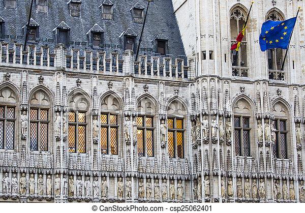 Gran lugar en Bruselas Belgium - csp25062401