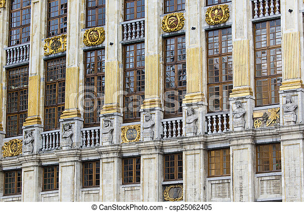 Gran lugar en Bruselas Belgium - csp25062405
