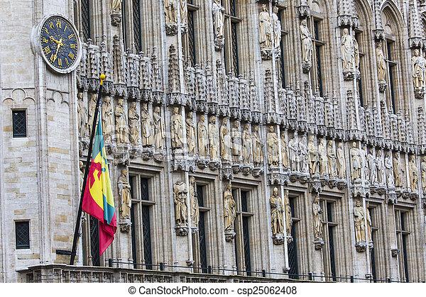 Gran lugar en Bruselas Belgium - csp25062408