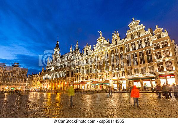 Gran lugar en Bruselas Belgium - csp50114365
