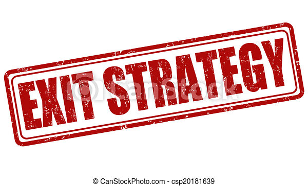 bélyeg, kijárat, stratégia - csp20181639
