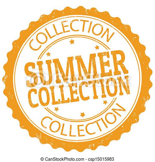 bélyeg, nyár, gyűjtés - csp15015983