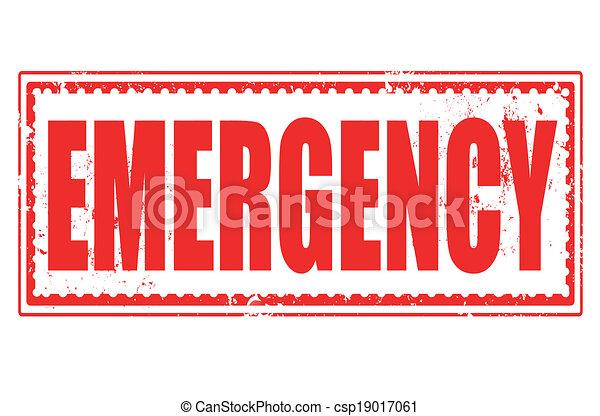 bélyeg, szükséghelyzet - csp19017061