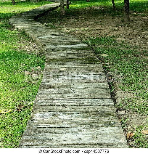Beton Chemin Jardin