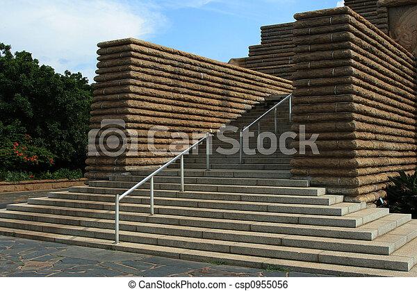 béton, steps. - csp0955056