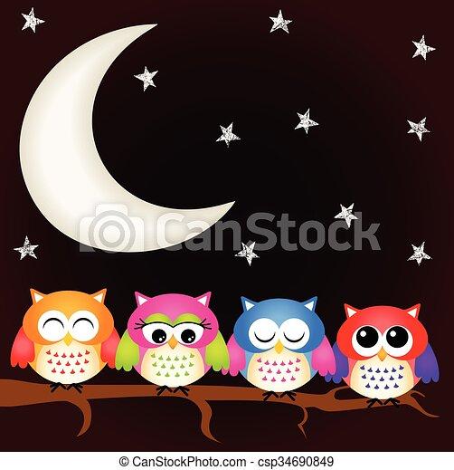 Buenas noches - csp34690849