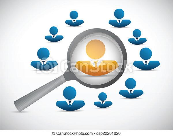 Candidato a buscar diseño de ilustración - csp22201020