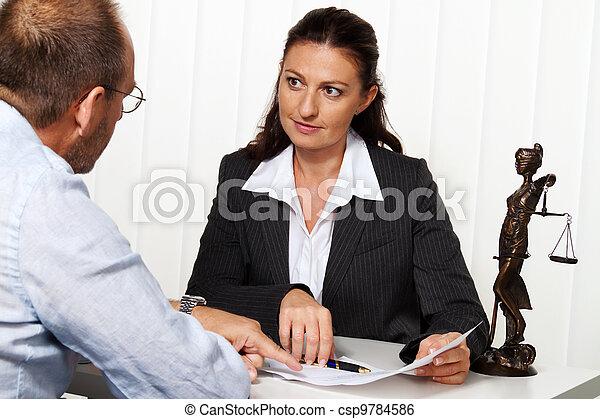 büro., rechtsanwalt - csp9784586