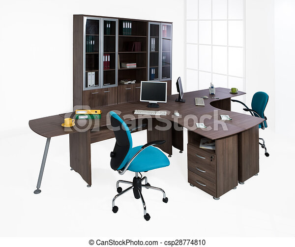 Weißer hintergrund, büromöbel Clipart - Suche Illustration ...