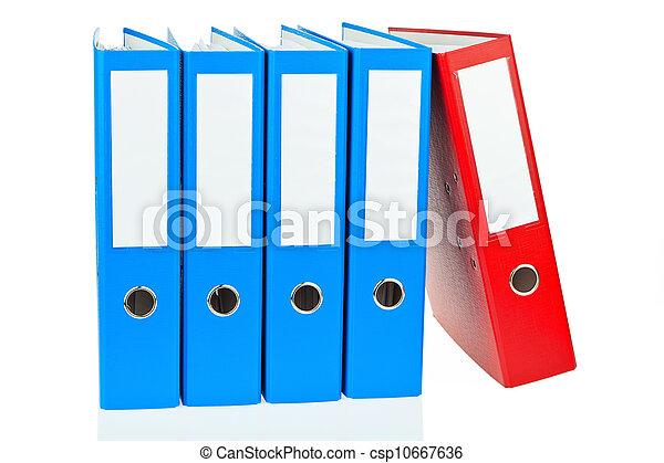 büroordner, dokumente, datei - csp10667636