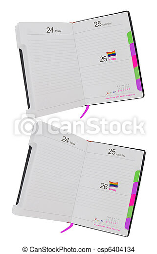 büszkeség, hétvégi, buzi, datebook - csp6404134