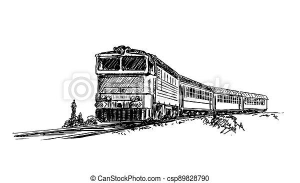 běh, neposkvrněný, pás, družina, temný grafické pozadí, ilustrace - csp89828790