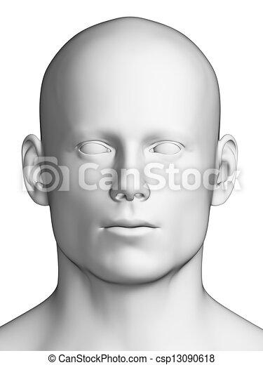běloba mu, hlavička - csp13090618