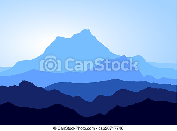 błękitne góry - csp20717746