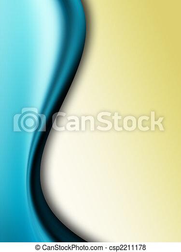 błękitny, ruch - csp2211178