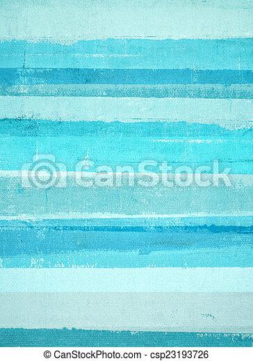 błękitny, turkus, sztuka, abstrakcyjny - csp23193726