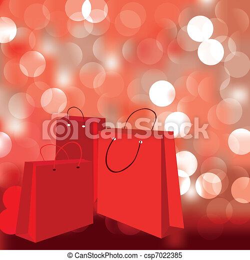 b, 抽象的, 背景, 買い物 - csp7022385
