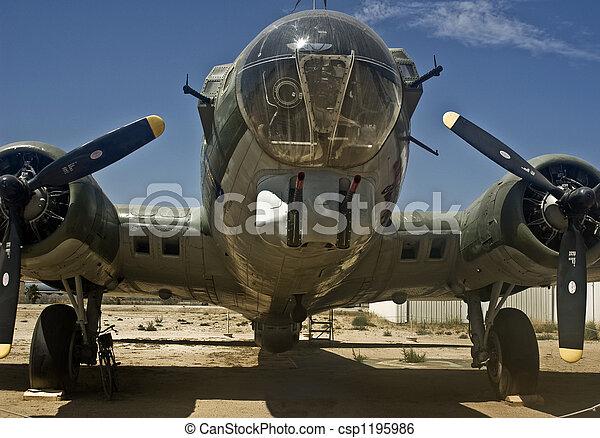 B-17 Bomber - csp1195986