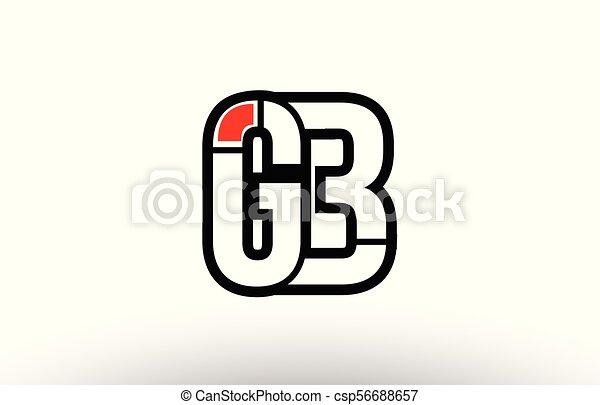 B Combinaison G Alphabet Conception Gb Lettre Logo Rouge Noir Icone B Combinaison G Alphabet Compagnie Canstock