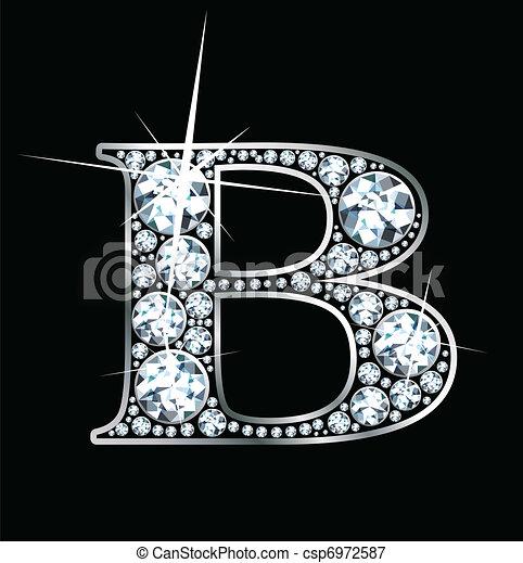 """""""b"""", diamant - csp6972587"""