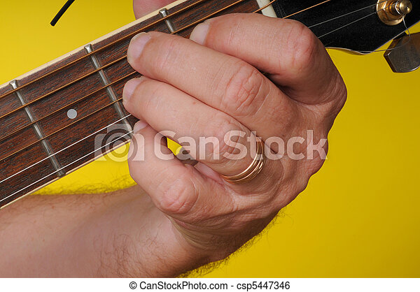 Finger Position For B7 Guitar Chord Stock Image Search Photos And