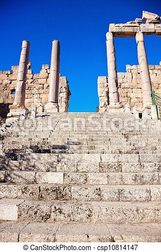 Baalbek ruins - csp10814147