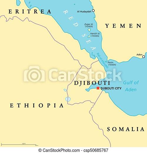 bab el mandeb strait political map clip art vector_csp50685767jpg