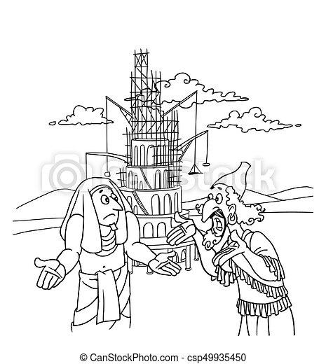 Babel Torre Construtores Pessoas Babel Outro Entenda Lata