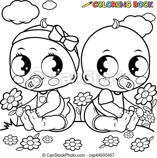 Children Playing Outside Clipart Black And White in 2020 | Summer coloring  pages, Free coloring pictures, Coloring pages for kids
