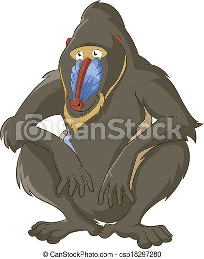 Baboon - csp18297280