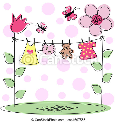 baby announcement - csp4607588