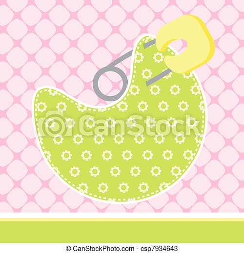 Baby Arrival Card - csp7934643