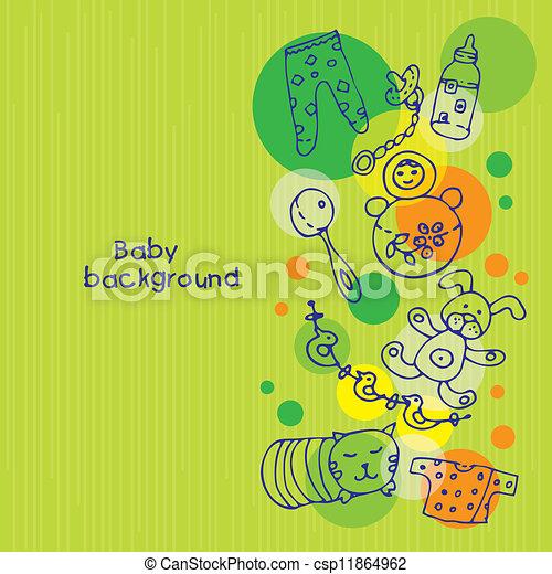 Baby background  - csp11864962
