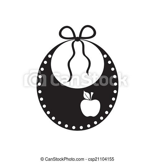 Baby bib - csp21104155