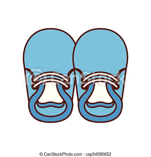 baby booties for boy child cute image vector illustration clipart rh canstockphoto com baby booties clipart free baby booties clip art free