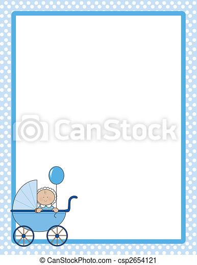 Baby Border Boy - csp2654121