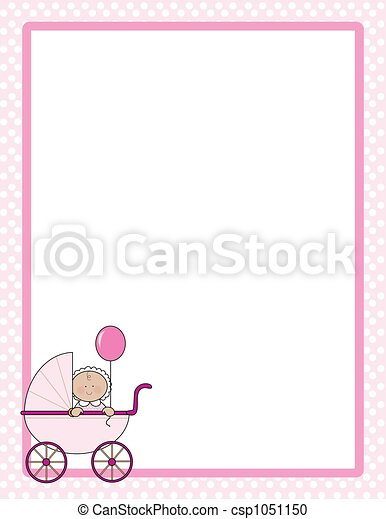 Baby Border Girl - csp1051150