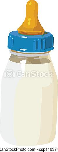 Baby bottle - csp11037480