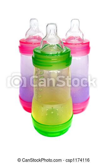 Baby bottles - csp1174116