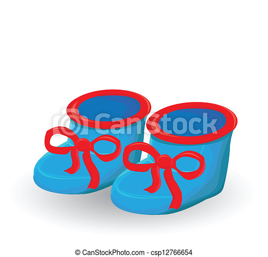 baby boy shoes clipart vector search illustration drawings and rh canstockphoto com baby girl shoes clipart blue baby shoes clipart