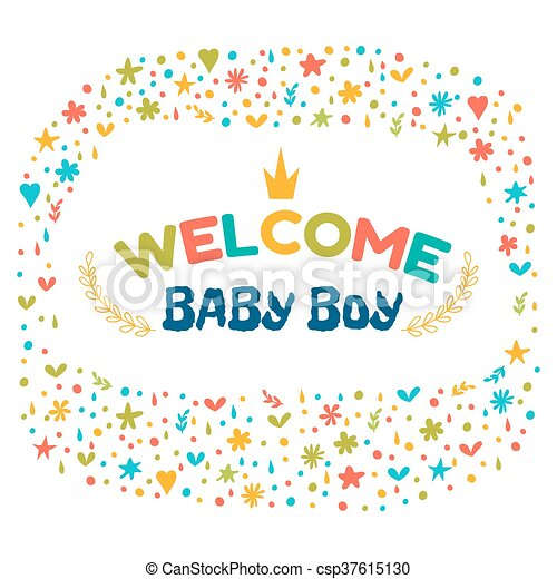 baby boy shower card welcome baby boy baby boy arrival postcard
