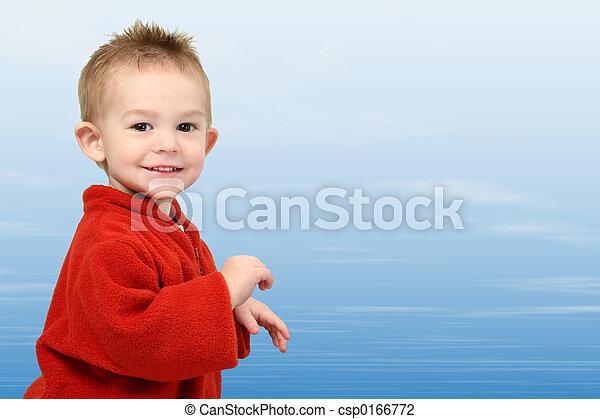 Baby Boy Sky - csp0166772