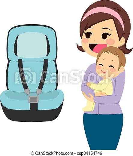 Baby Car Seat - csp34154746