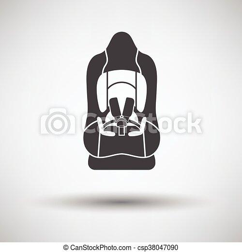 Baby car seat icon - csp38047090