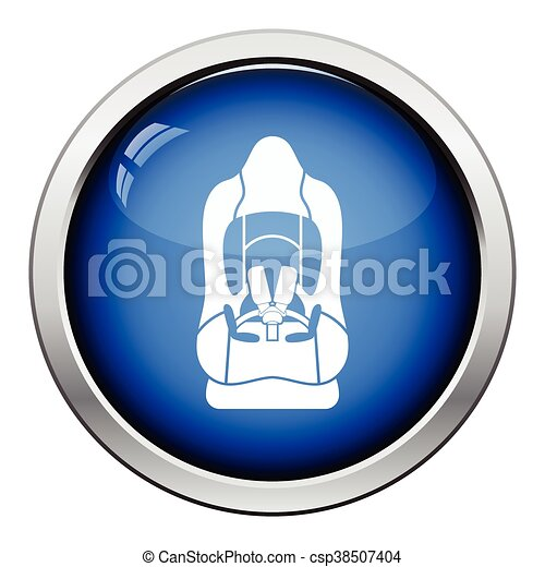 Baby car seat icon - csp38507404