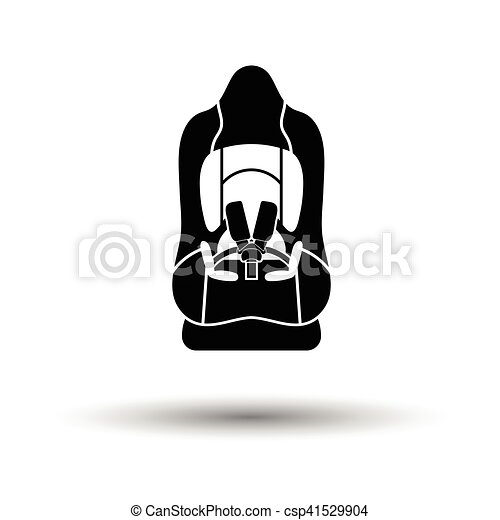 Baby car seat icon - csp41529904