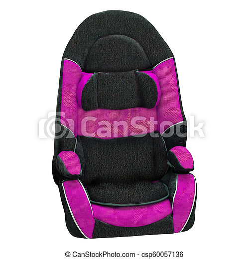 Baby car seat isolated - csp60057136
