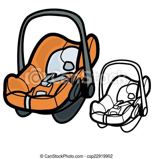 Baby Car Seat - csp22919902