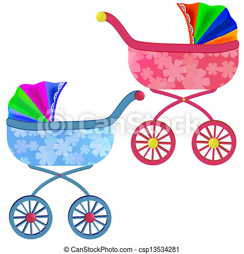 Baby carriage - csp13534281