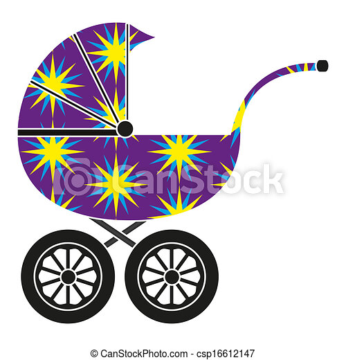 Baby carriage - csp16612147